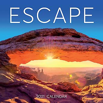 2021 Escape Wall Calendar by Workman Calendars