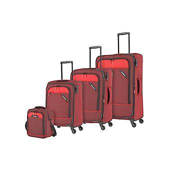 travelite Derby L Erw/M Erw/S 4 hjul, brädväska, röd