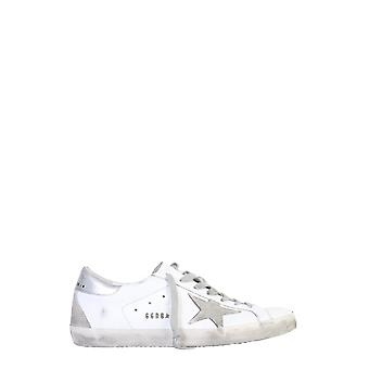 Golden Goose Gmf00102f00031710273 Men's White Leather Sneakers