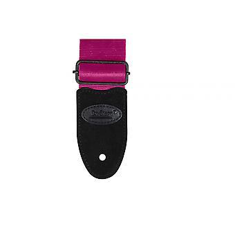 GSA20PK, Sangle de guitare ceinture de sécurité (rose)