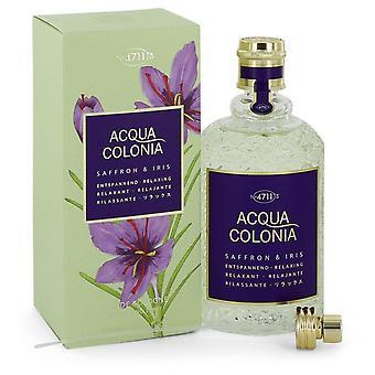 4711 Acqua Colonia Safran et Iris Eau De Cologne Spray Par Maurer et Wirtz 5,7 oz Eau De Cologne Spray