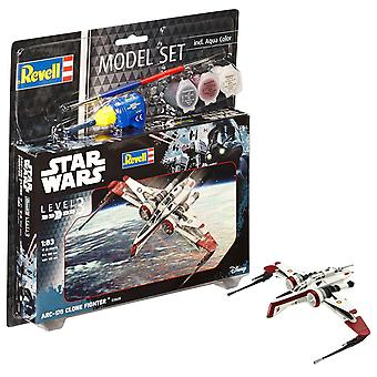 Revell 63608 Star Wars ARC-170 Fighter Muovi Malli Kit