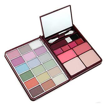 Kit G0139 de maquillaje Cameleon (18 x 2 x coloretes, sombra de ojos, 2 x presionado en polvo, 4 x Lipgloss) - 1