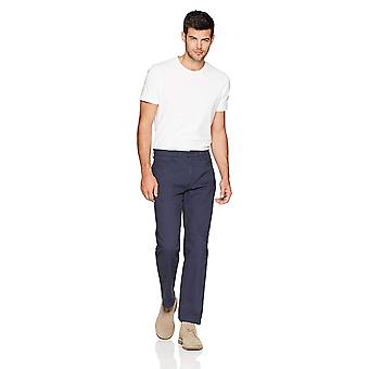 Goodthreads Men's Athletic-Fit 5-Pocket Chino Pant, Navy, 38W x 30L