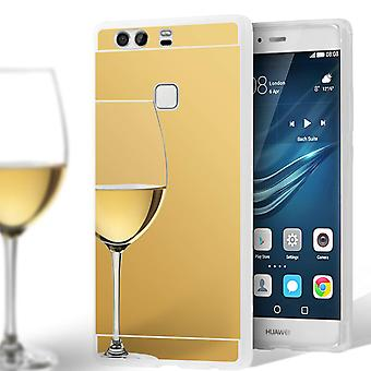 Mirror Shell for Huawei P9 Mobile Protection Shockproof Thin Mobile Shell Mirror Silicone