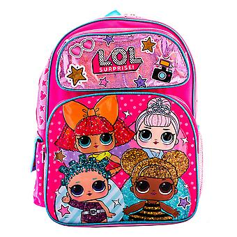 L.O.L Surprise! Backpack 4 Dolls