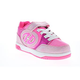 Heelys Plus X2 Lighted  Big Kids Pink Lifestyle Sneakers Shoes