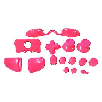 Full button set for xbox one 1697 & xbox one e 1698 model controllers replacement - pink | zedlabz