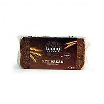 بيونا-خبز الجاودار أسمر العضوية 500 غرام