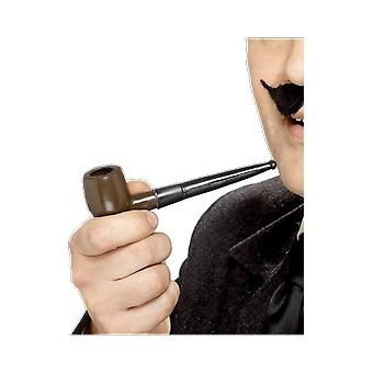 Brown Smoking Pipe Fancy Dress Costume Accessory