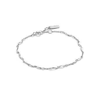 Ania Haie sterling sølv rhodium forgyldt Helix armbånd B012-03H