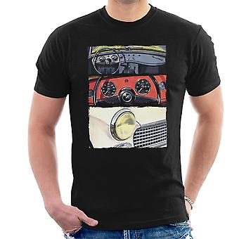 Austin Healey Montage British Motor Heritage Men's T-paita