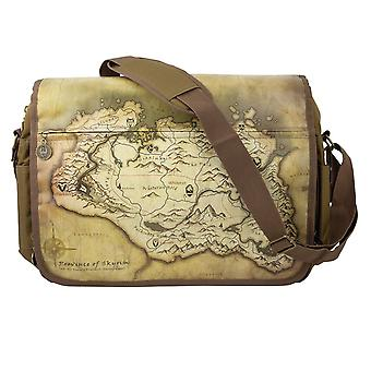 TESV Skyrim Messenger Bag Map - Gaming Merchandise