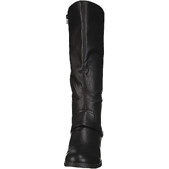 Easy Street Women's Jewel Mid Calf Boot Black 9.5 XW US