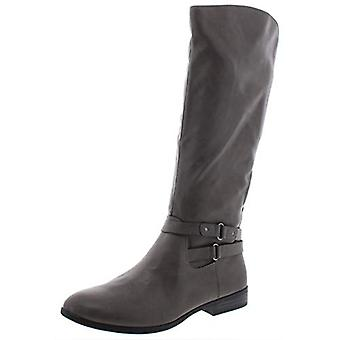 Style & Co. Womens Kindell Faux läder Rund Tå Ridning Boots