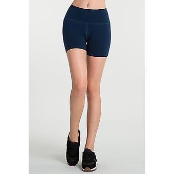 Jerf Womens Aruba Navy Blue Seamless Shorts