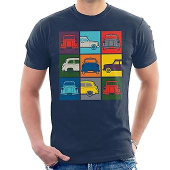 London Taxi Company Colourful Angles Men's T-Shirt