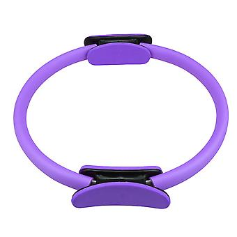 Balanced Pilates Circle for Toning Thighs Inner Dia 11.8inch Purple