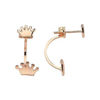 Royal Crown Gold Earrings