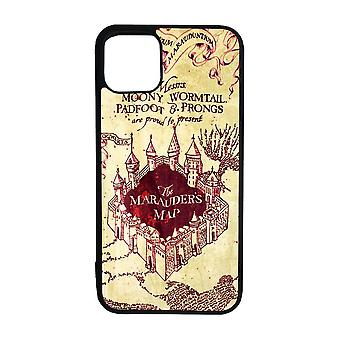 Harry Potter Marauder's Kartta iPhone 12 / iPhone 12 Pro Shell