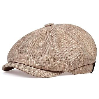 New Men's Casual Newsboy Hat Spring And Autumn Retro Beret Wild Casual Hats Cap