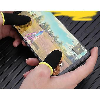 2szt Kontroler gier Finger Covers Proof Gaming Thumbs Sleeve Oddychający