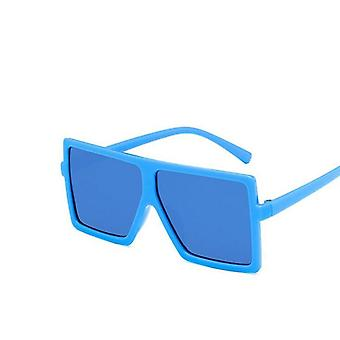 Oversize Square Sunglasses Baby Festival Punk Uv400 Glasses