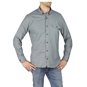 Matinique Blue Long Sleeve Shirt