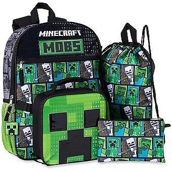 Minecraft MOBS Sac à dos 5 pièces