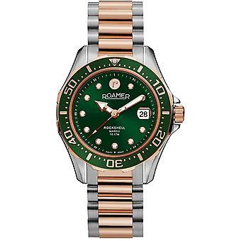 Roamer 220660 49 75 20 Rockshell Mark III Green Dial Wristwatch