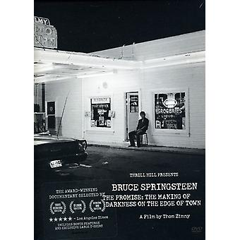 Bruce Springsteen - promesse : The Making of Darkness sur l'importation des USA de bord de remorquage [DVD]