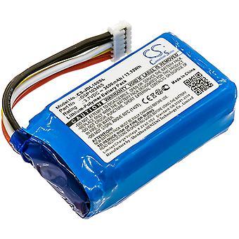 Battery for JBL GSP103465 Link 10 Voice Assistant Speaker CS-JBL100SL 3600mAh