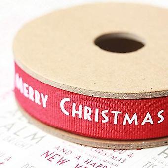 Ten oosten van India Merry Christmas lint 3 m rode en witte Snowflake