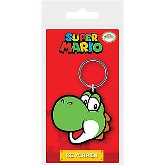 Super Mario Yoshi Rubber Keyring