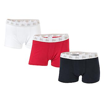 Boy's Money Junior 3 Pack Boxer Shorts in Blauw