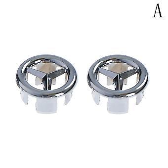 Sink Hole Round Overflow Cover Ceramic Pots Basin Kitchen Hotels Bathroom