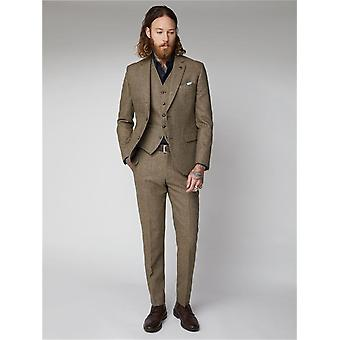 Fawn Glen Check Suit Jacket