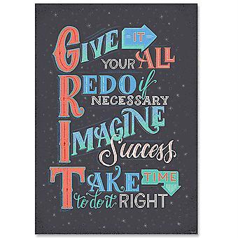 Grit Inspire U Poster