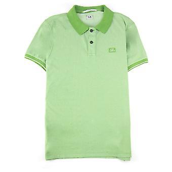 CP Company Cp Company Tacting Short Sleeve Polo Dark Green