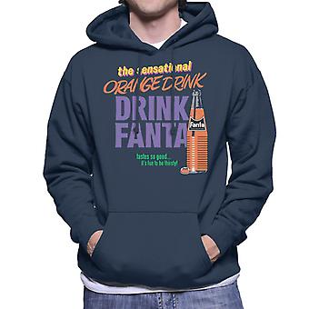 Fanta The Sensational Orange Drink Men's Hooded Sweatshirt