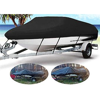 11- 22ft Barco Boat Cover Anti-uv Wodoodporny Heavy Duty 210d Marine Trailerable