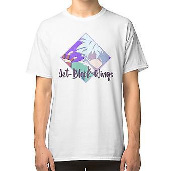 Jet Black Wings - Saiki K Art T shirt Shun Kaido