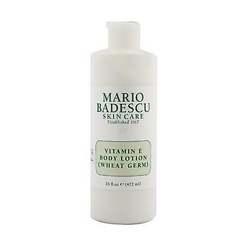 Mario Badescu Vitamin E Bodylotion (Weizenkeime) - Typen für alle Haut 472ml / 16oz