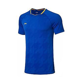 バドミントンコンクールTシャツ、ナショナルチームファンバージョンライニングスポーツティー