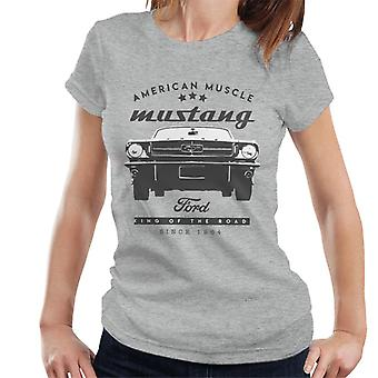 Ford Mustang American Muscle Stars Naisten&Apos;t-paita