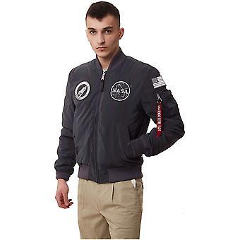 Alpha Industries MA1 Nasa Rainbow Reflective 128112RR572 universal all year men jackets