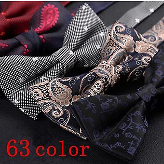 Bow Tie Shirt Wedding Butterfly For Man Bowtie Formal Dresses Ribbon Neck
