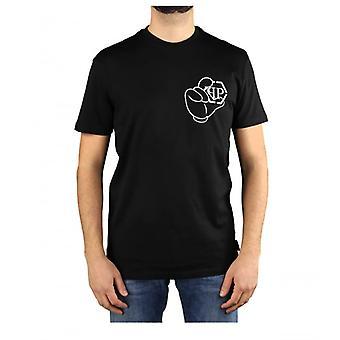 Philipp Plein Ss Iconisch Plein Zwart T-shirt
