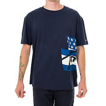 Tommy Jeans Heritage Flags Camiseta Masculina dm0dm08669.c87
