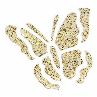 Creativ Paper Pen 25ml Glitter Gold Transparent